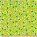 Quilt Camp Large Floral Green