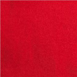 Warm Winter Fleece Solid Red