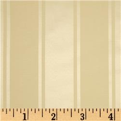 Alpine Satin Jacquard Wide Stripes Beige