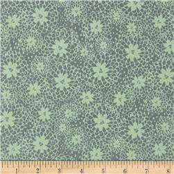 Bloom Stencil Floral Green