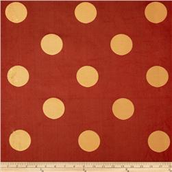 World Wide Aldo Large Dot Jacquard Cinnamon