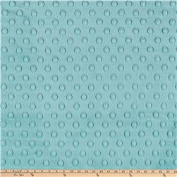 Minky Cuddle Dimple Dot Salt Water Fabric