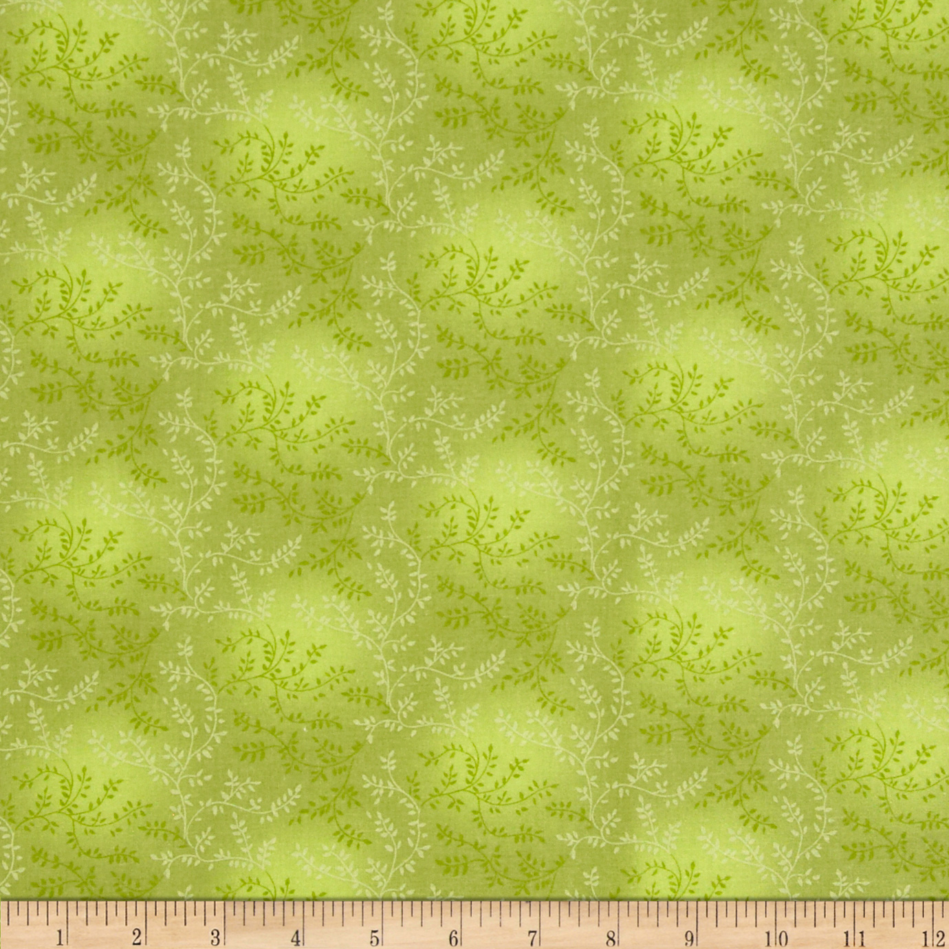 108'' Wide Quilt Back Tonal Vineyard Light Olive