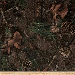 True Timber Amerisuede Mixed Pine Fabric