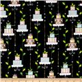 Tinsel Toes Christmas Cakes Black