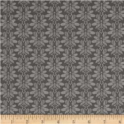 Cherry Pop Damask Gray
