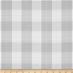 Designer Yarn Dyed Suiting Plaid Grey