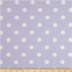 Premier Prints Polka Dot Twill Wisteria Fabric