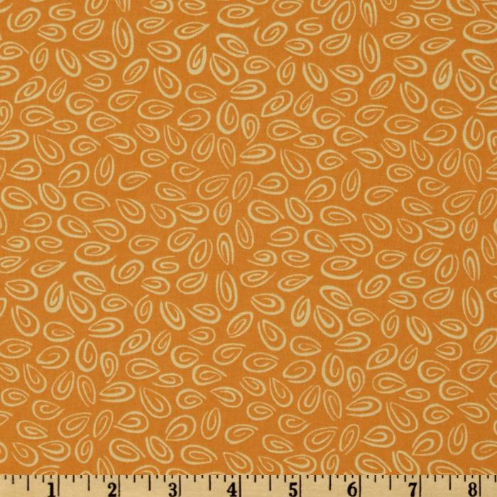 World of Susybee Zoe Oval Swirl Orange