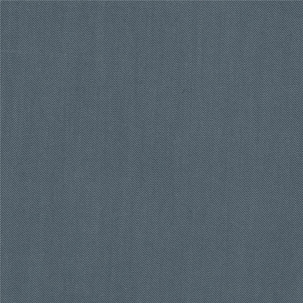 Sueded Cotton Blend Gabardine Ocean Blue