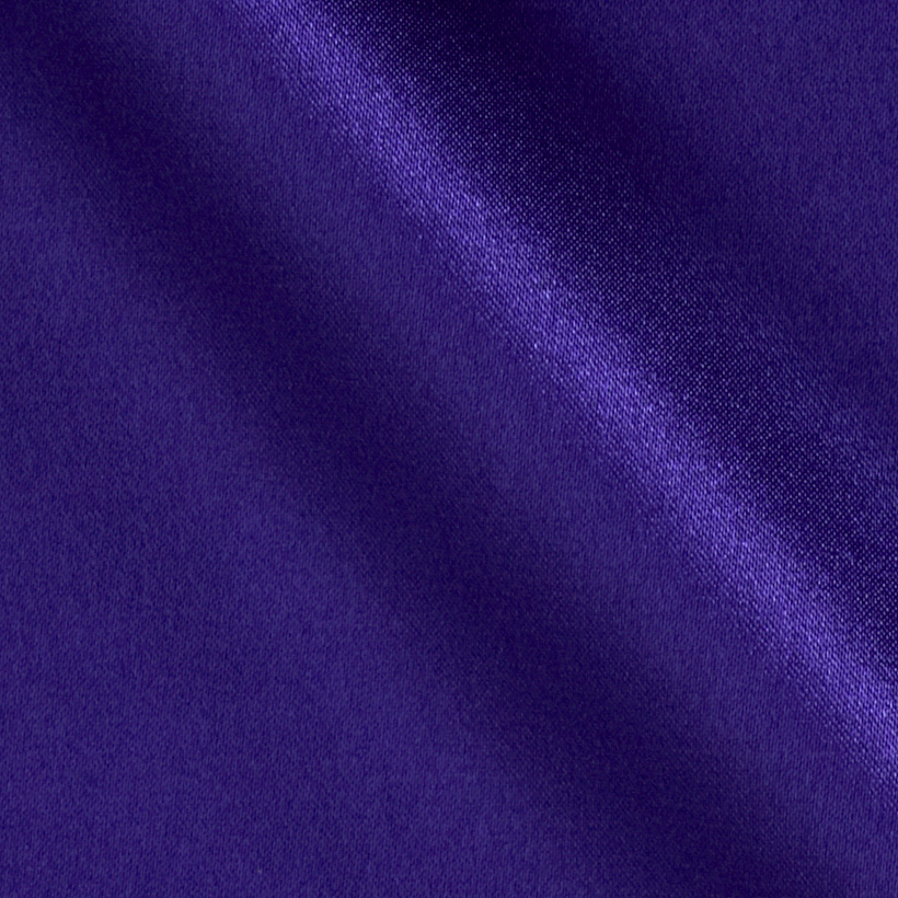 Charmeuse Satin Grape Fabric