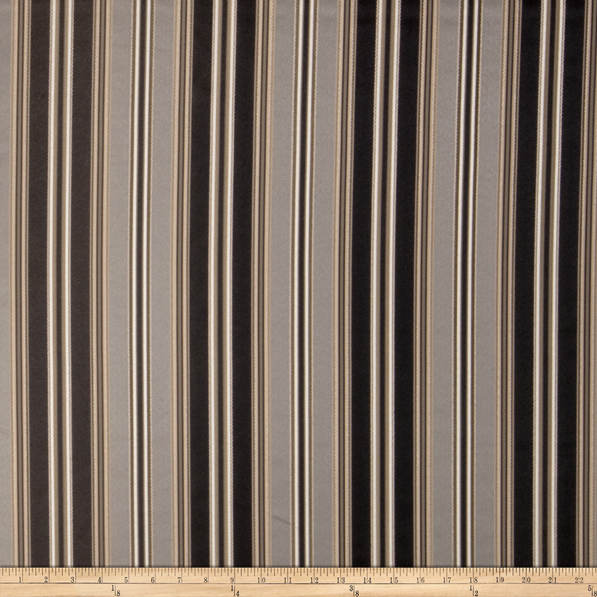 Image of Trend 2177 Faux Silk Steel Fabric