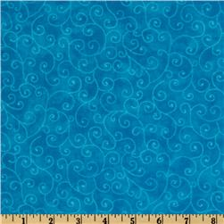Moda Marble Swirls (9908-15) California Turquoise Fabric
