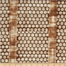 Studio Stash Circle Stripe Mocha