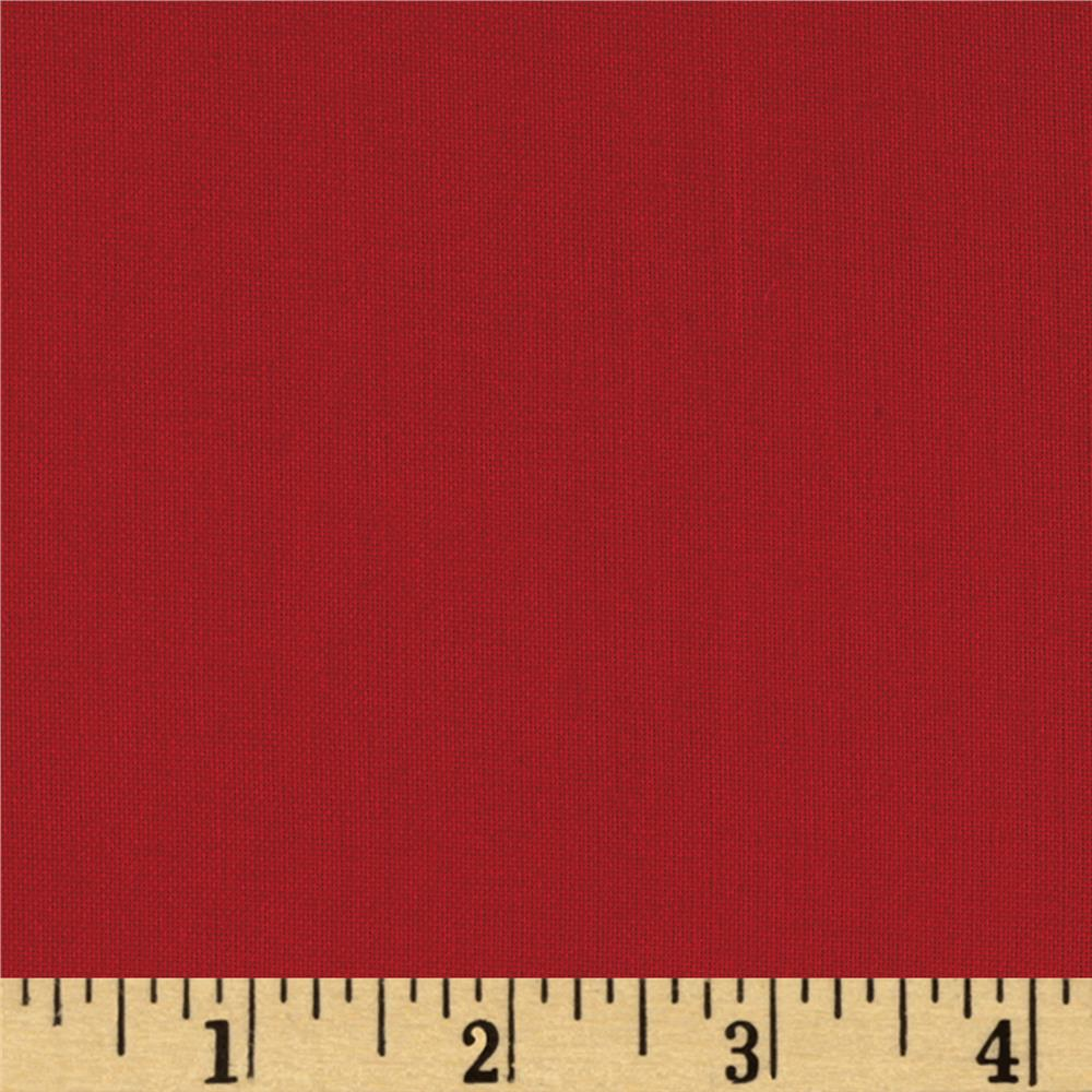 "108"" Quilt Wide Back Solid Red"