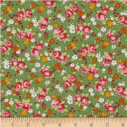 Moda Spring-A-Ling Spring Bouquet Mint