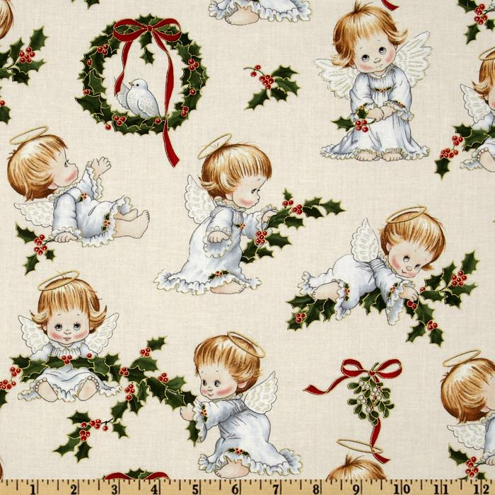 Christmas Cherubs The Littlest Angel Cream
