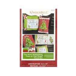 Kimberbell Kids Most Wonderful Time of the Year Pillow Set Pattern