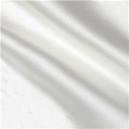 Adore Duchess Satin Silk White Fabric