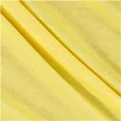 Rayon Spandex Jersey Knit Solid Butter