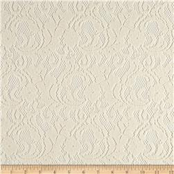 Floral Lace Ivory