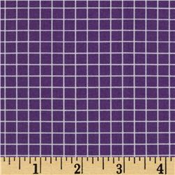 "Citrus 1/4"" Grid Grape"