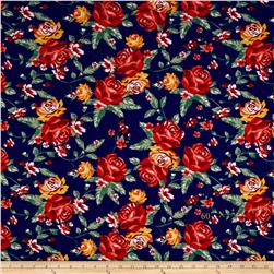 Ponte De Roma Floral Prints Royal/Red/Green