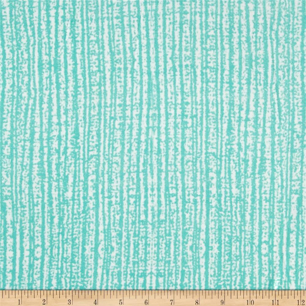 Double Brushed Poly Spandex Jersey Knit Milana Abstract Mint