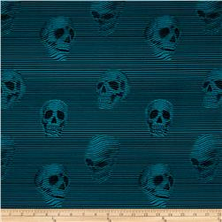 Alexander Henry Skullduggery Between the Lines Teal