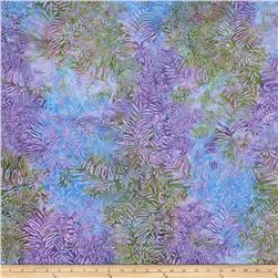 Island Batik Fern Light Purple/Dark Purple