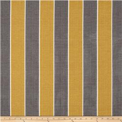 Tempo Indoor/Outdoor Awning Stripe Gold/Grey Fabric