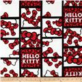 Hello Kitty Patchwork Bows White/Red