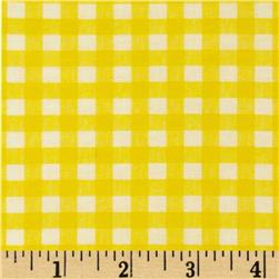 Basic Training Gingham Yellow/White