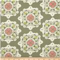 Ty Pennington Home Decor Sateen Fall 11 Delhi Green