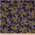 Kaufman Valley of the Kings Metallic Branches Royal