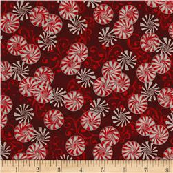 Suite Christmas Metallic Peppermint Twist Cinnamon