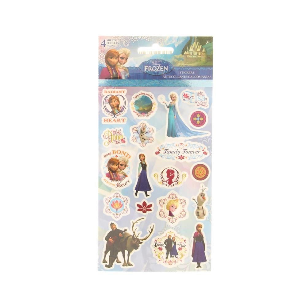 Disney's Frozen Stickers (4 Sheets)