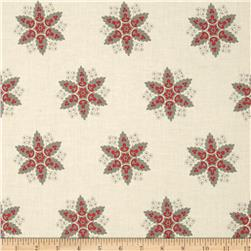 Riley Blake A French Courtyard Floral Cream Fabric