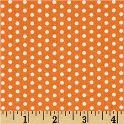Moda Farmhouse Polka Dotties Pumpkin