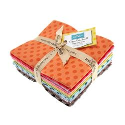 Riley Blake Basics Small Dots Fat Quarter Assortment