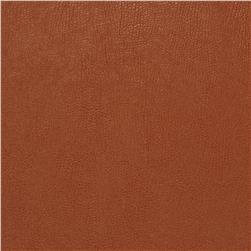 Fabricut 03343 Faux Leather Brandy