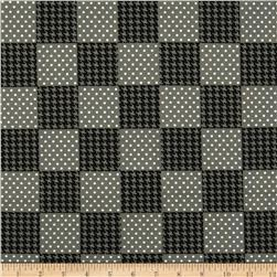 Spotlight Patchwork Grey Fabric