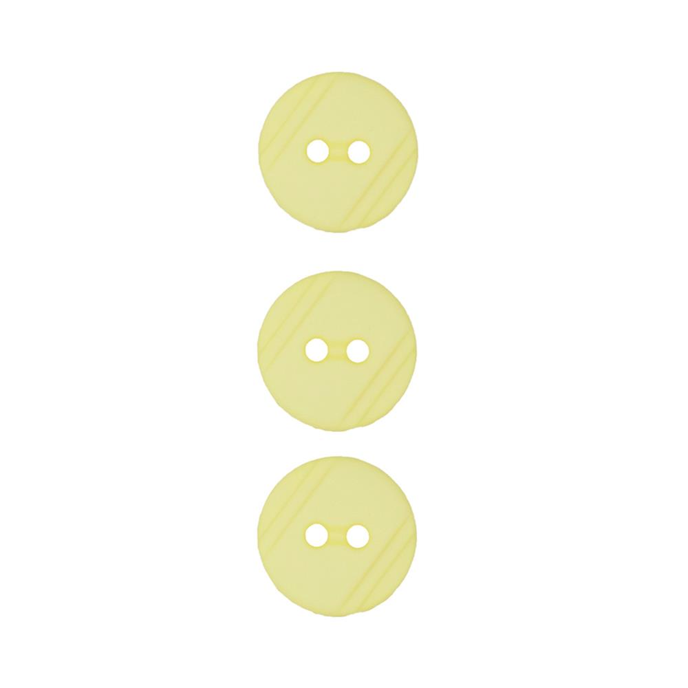 Dill Buttons 1/2'' Polyamid Button Yellow