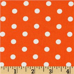 Pimatex Basics Polka Dots Orange