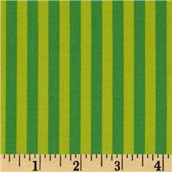 Michael Miller Clown Stripe Mint Fabric