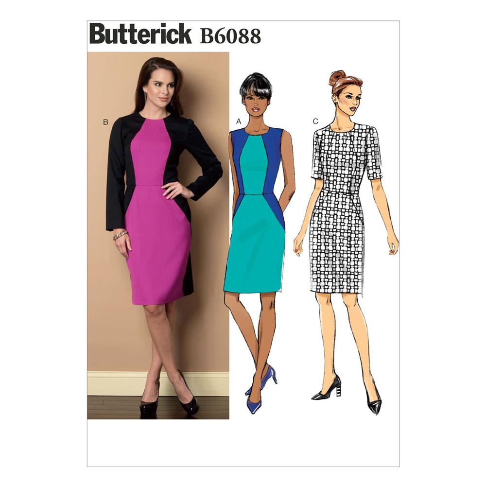 Butterick Misses' Dress Pattern B6088 Size A50