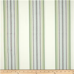Jennifer Adams Home Bukara Stripe Jacquard Pearl Grey