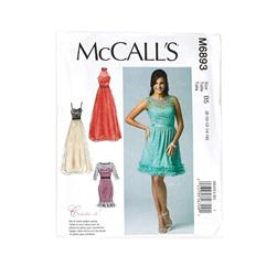 McCall's Misses' Dresses Pattern M6893 Size B50
