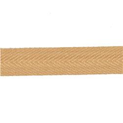 "May Arts 3/4"" Twill Ribbon Spool Natural"