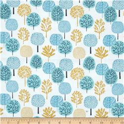 Cloud 9 Organic First Light Flannel Passing Forest